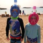 Kids Full Face Snorkel Masks. Safety and best models