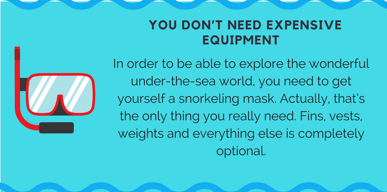 Cheap Snorkeling Equipment