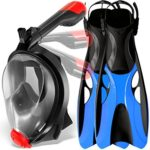 Cozia Design Full Face Mask Snorkel Set