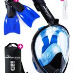 Snorkel Star 4-piece Full Face Mask Snorkeling Set