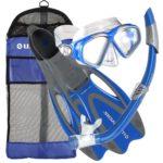 U.S. Divers Conzumel Snorkel Set